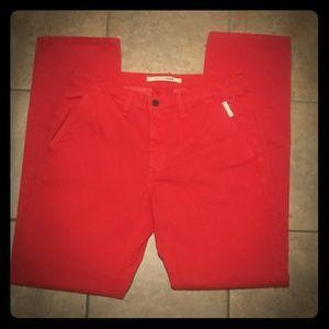 NWT Big Star Red Chino Pants size 32R